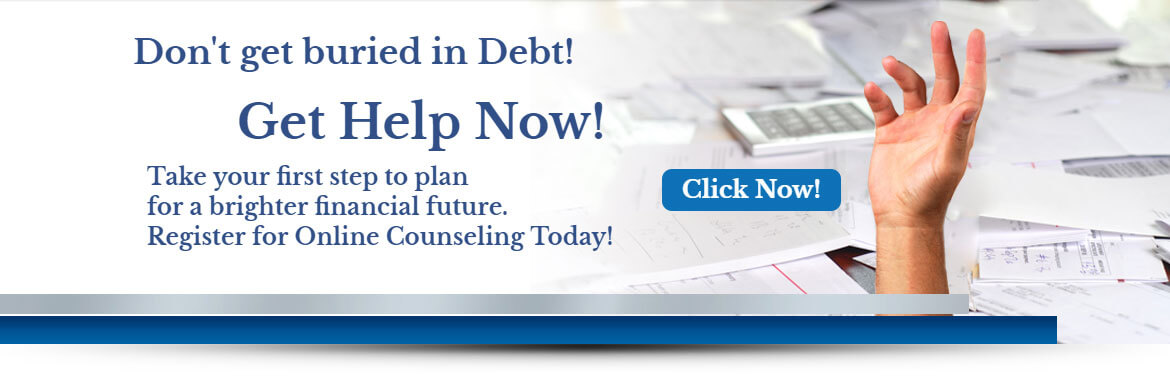 Banner Image #1 - Dont' get buried in debt. Get help now!